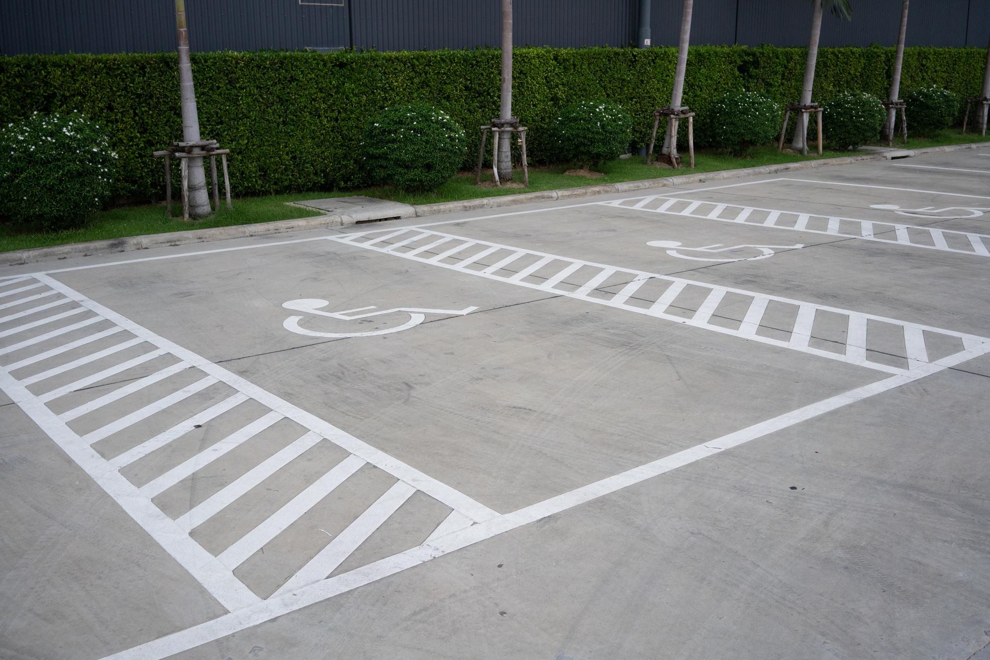 Parking Lot Striping for Tulsa